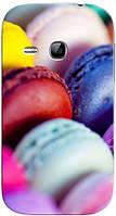 Чехол для Samsung gt-s6312/6310 galaxy young (Макаруны)