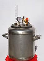 Автоклав бытовой Гибрид на 7 (1-литровых) или 16 (0,5-литровых) банок (Николаев) NIK