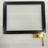Оригинальный тачскрин / сенсор (сенсорное стекло) для Ritmix RDM-1040 | RDM-1055 (черный цвет, самоклейка)
