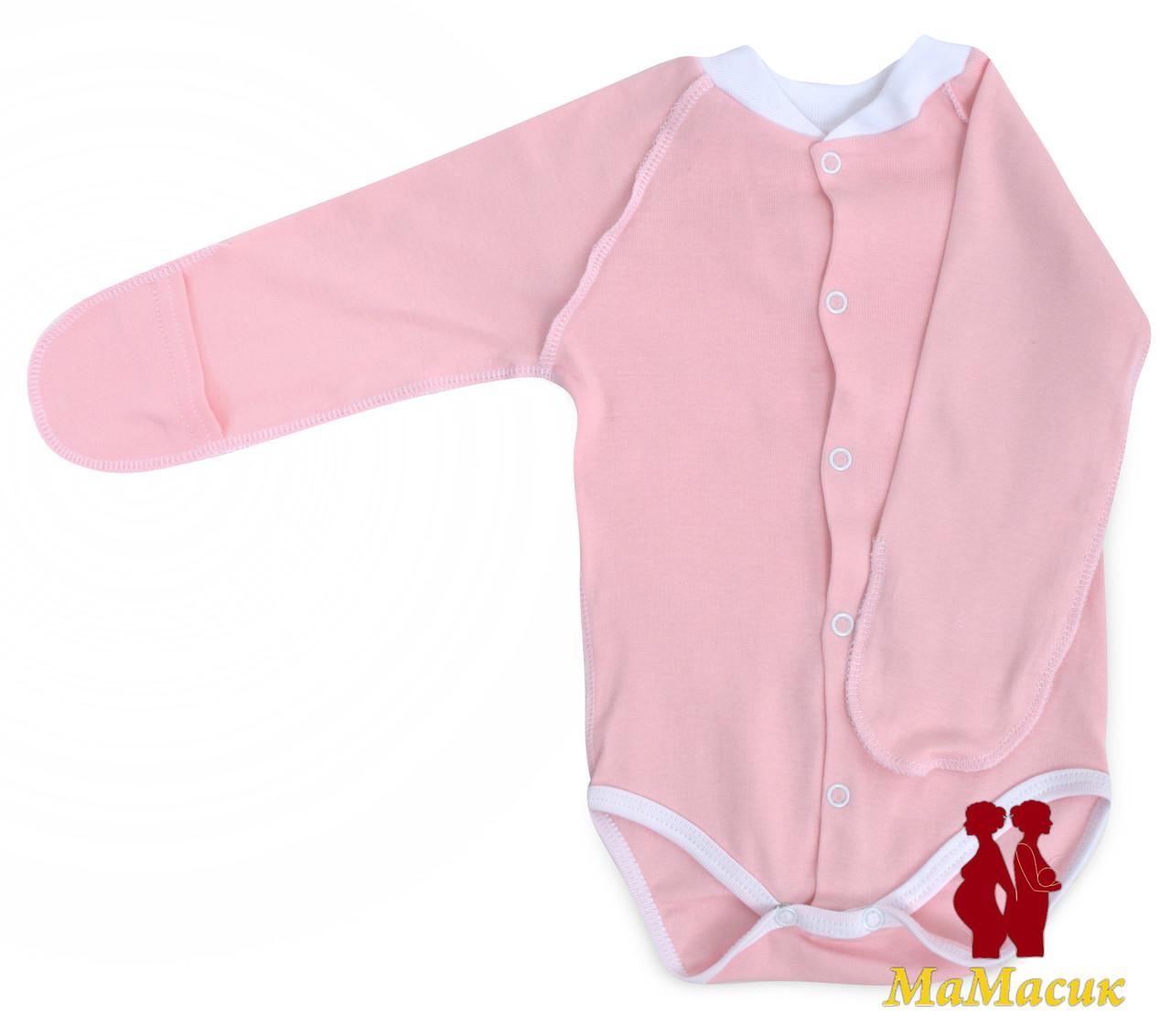 Бодик для новорожденного (рубчик), фото 1