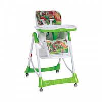 Детский стульчик для кормления Bertoni PRIMO (green mushrooms)