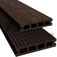 Террасная доска Okwood Medium шоколад 126*23*3000 мм