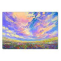 Светящиеся Картины Startonight Ванильное Небо Природа Пейзаж Печать на Холсте Декор стен Дизайн Интерьер