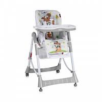 Детский стульчик для кормления Bertoni PRIMO (grey pyramid animals)