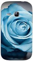 Чехол для Samsung gt-s6312/6310 galaxy young (Роза)