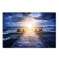 Светящиеся Картины Startonight Рассвет над Океаном Природа Пейзаж Печать на Холсте Декор стен Дизайн Интерьер