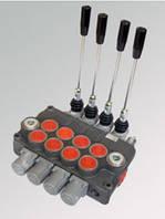 Гидрораспределители моноблочные с ручным управлением P120 (до 4-х золотников)