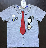 Футболка для мальчика HM, 2-4 года. Тениска, рубашка детская