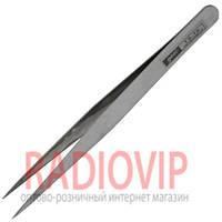 Пинцет радиотехнический GOOI TS-10, метал.