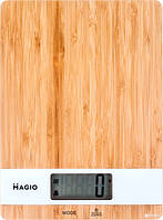 Весы электронные кухонные (бамбук) 5 кг MAGIO MG-693
