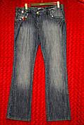 Женские джинсы труба