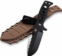 """375BKSN Нож Benchmade""""Sibert"""" fixed, paracord#"""