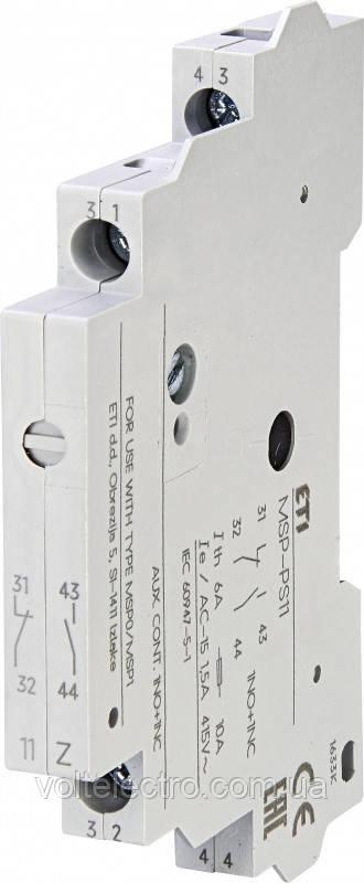 Блок-контакт MSP-PS11 (боковой)