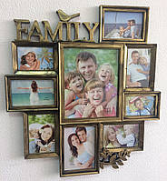 Фоторамка коллаж для фотографий Family (39)