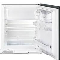 Встраиваемый холодильник, морозильное отделение сверху, монтаж под столешницу Smeg U3C080P