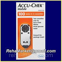 Accu-chek Mobile Тест-кассета к глюкометру Акку-Чек Мобайл 50 тестов