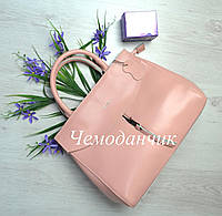 КОЖАНАЯ СУМКА CELINE Селин розовая