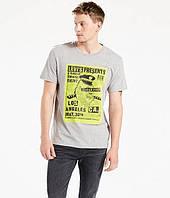 Мужская футболка  Levi's® Graphic Tee - Medium Grey