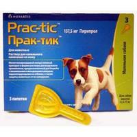 Прак-тик капли для собак весом от 4,5 до 11 кг