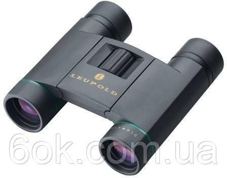 """65785 Бинокль Leupold """"Olympic"""" 10x25mm Compact Roof Dual Hinge Black"""