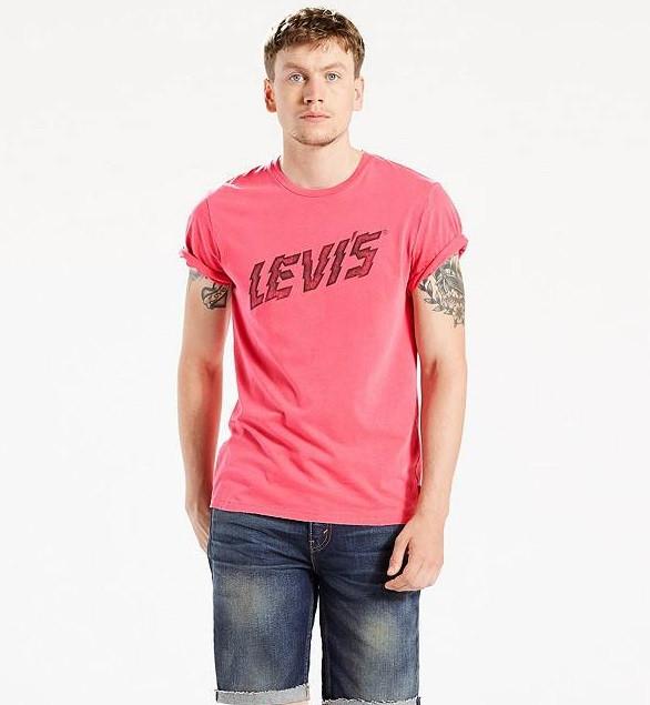 Мужская футболка  Levi's® Graphic Tee - Baroque Rose(XL)