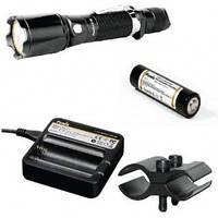 Фирменный набор Fenix TK15 S2 + AR102 + ак Fenix 2600 + зарядка ARE-C1 + крепление F3456