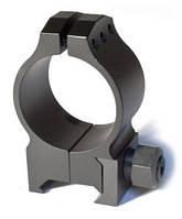 Крепление Warne Tactical Fixed Ring 30мм. High стальное ц:black