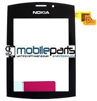 Оригинальный Сенсор (Тачскрин) для  Nokia Asha 303 (Черный)