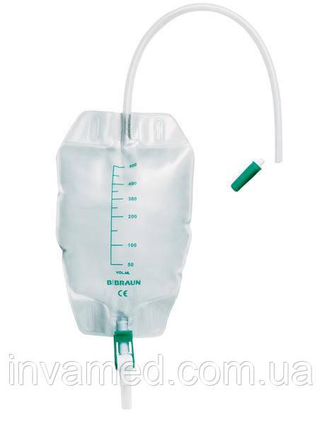 Сечоприймач B. Braun. Мішок для збору сечі Urimed® 500ml