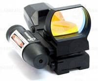 Коллиматорный прицел SightecS Laser Dual Shot Reflex Sight открытый (FT13002-DT)