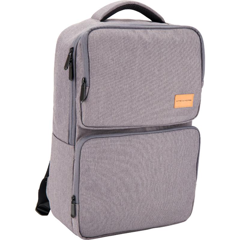 Деловой рюкзак 1017 Kite&More-1