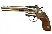 Револьвер флобера Alfa mod.461 4 мм никель/дерево