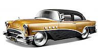 Автомодель Maisto 1:26 Buick Century 1955 золотистый - тюнинг (32507 gold)