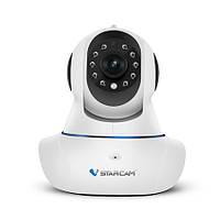 Поворотная ptz wifi камера с разрешением 1280x720P, приложением для Iphone/Android (мод. C7825WIP)
