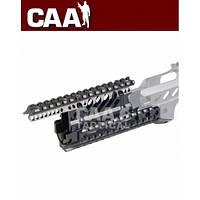 Цевье CAA для АКМ/АК74, 4 планки Пикатинни, алюминий