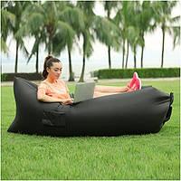 Надувной диван-шезлонг Air Sofa Black