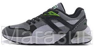 Мужские кроссовки Puma R698 Пума серые, фото 2