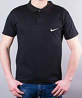 Однотонная мужская футболка поло от производителя