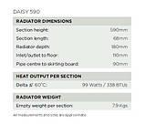 Классический чугунный радиатор Arroll модель DAISY 590, фото 5