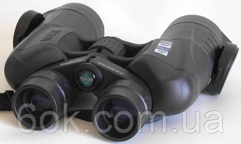 YUKON Pro 7х50 WA без світлофільтрів (дальномір. шкала, кришки eclipse)