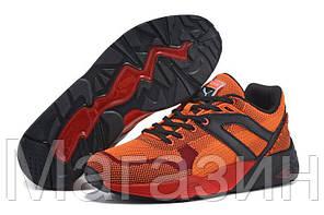 Мужские кроссовки Puma R698 Пума оранжевые, фото 2