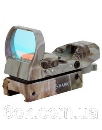 Коллиматор SightMark панорамный, 4 марки, крепление на планку 11 мм SM13003C-DT