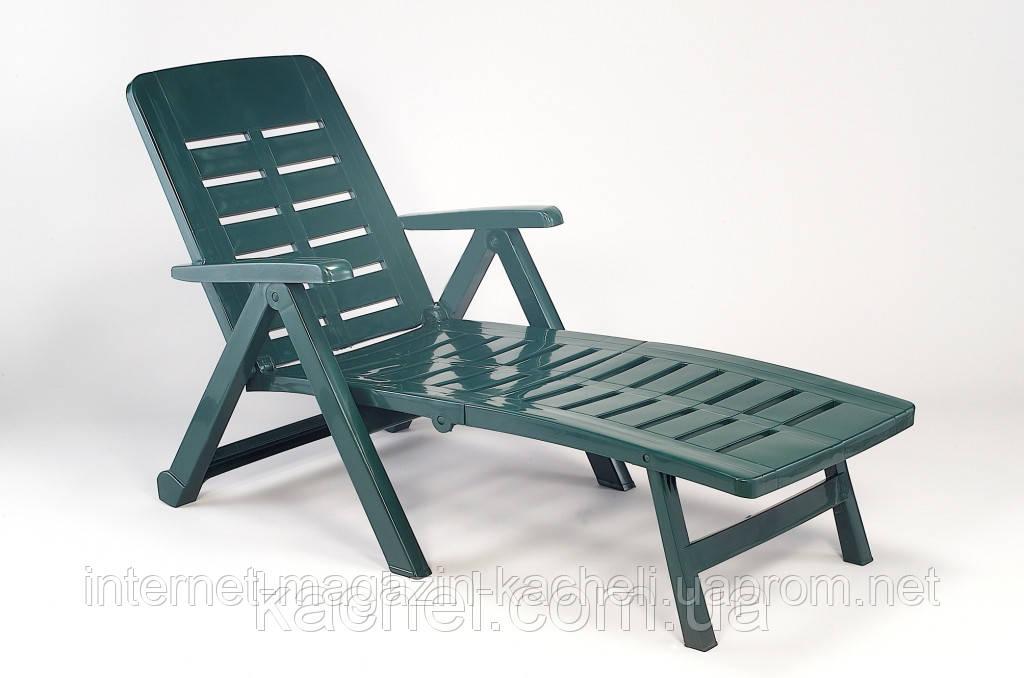 Лежак SMERALDO зеленый