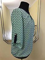 """Стильная блузка """"Сабина"""" для женщин,  50-58 р-ры, 270/240 (цена за 1 шт. + 30 гр.)"""