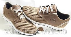 Летние кроссовки мокасины Lacoste