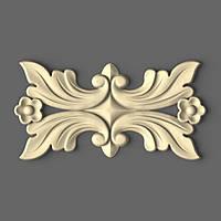 3D накладка на царгу комода 210х110