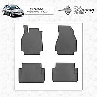 Комплект резиновых ковриков Stingray для автомобиля  RENAULT MEGANE II 2002-2008   4шт.