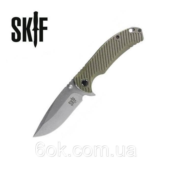 Нож SKIF Sturdy G-10/SW ц:green