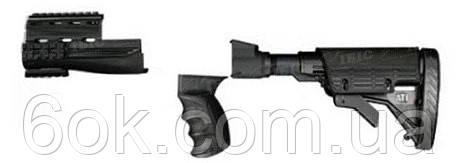 Обвес тактический ATI Strikeforce Elite для штамп. АК,рег.в 6-ти поз.приклад., рукоятка, ц ц:черный