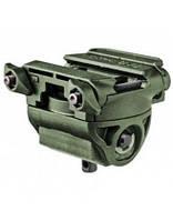 Адаптер для сошек FAB Defense поворотный, наклонный, на планку Пикатинни ц:green